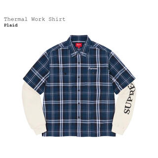Supreme - Supreme Thermal Work Shirt サイズ M