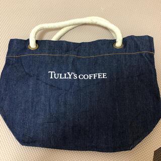 タリーズコーヒー(TULLY'S COFFEE)の【訳あり新品】TULLY'S COFFEE デニムミニバッグ(トートバッグ)