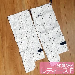 adidas - adidas アディダス ゴルフ レインレッグカバー ドット柄 フリーサイズ