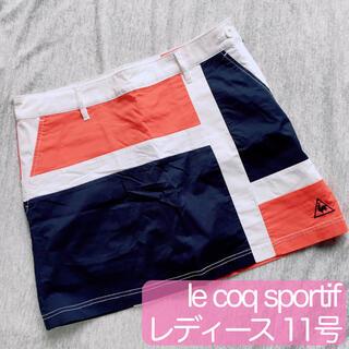 le coq sportif - lecoqsportif レディース ゴルフウェア スカートパンツ 11号ふ