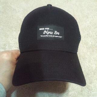NEW ERA - NEW ERAニューエラ メッシュキャップ ブラック