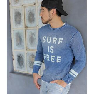 ベイフロー(BAYFLOW)のベイフロー インディゴ ニット H&M ZARA surf ビームス(ニット/セーター)