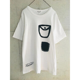 COMME des GARCONS - 【★希少★メンズL】コムデギャルソン ポケット デザイン Tシャツ POCKET