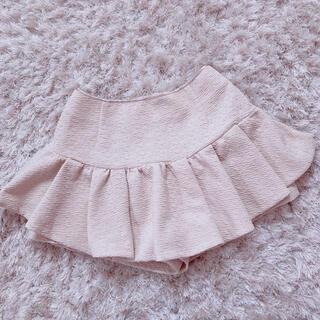 アンクルージュ(Ank Rouge)の今週限定 pink beige skirt(ミニスカート)