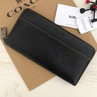 COACH - 限定モデル 新品 COACH コーチ 長財布 ブラック 黒色