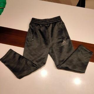 adidas - adidas サッカーウェア 裏起毛 ズボン 120cm