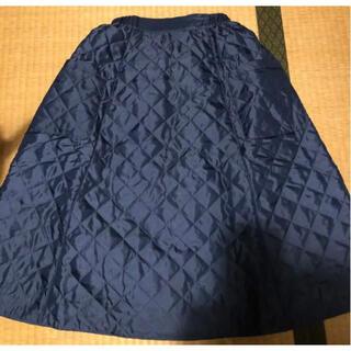 フェリシモ(FELISSIMO)のフェリシモ・リバーシブルキルティングスカート(ひざ丈スカート)