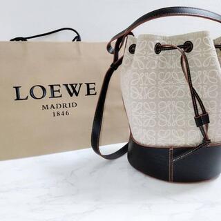 LOEWE - 定価35万 ロエベ Loewe アナグラム バルーンバッグ ショルダーバッグ