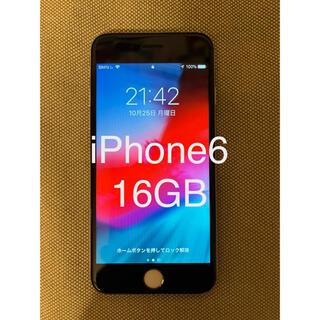 Apple - iPhone6 16GB シルバー