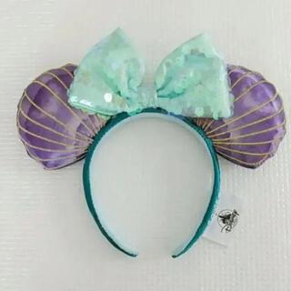 Disney - 海外ディズニーリトルマーメイド30周年アリエル 貝殻カチューシャ