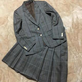 バーバリー(BURBERRY)のバーバリーズ スカートスーツ セットアップ ノバチェック 金ボタン ヴィンテージ(スーツ)