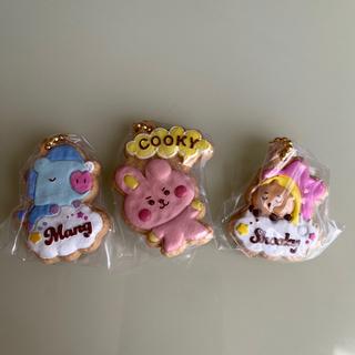 防弾少年団(BTS) - BT21クッキーチャームコット COOKY &MANG &SHOOKY