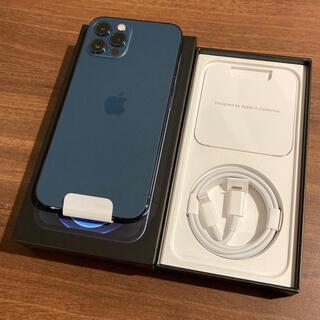 Apple - 未使用 iPhone12 Pro 128GB ブルー SIMフリー