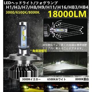 LEDヘッドライト 車検対応 高輝度 LEDバルブ ledフォグランプ H4(H