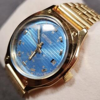 シチズン(CITIZEN)のシチズン CITIZEN メンズ腕時計 自動巻き ヴィンテージ ※リューズ調子悪(腕時計(アナログ))