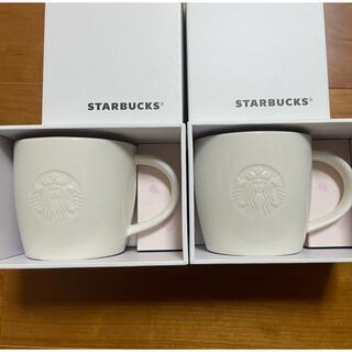 Starbucks Coffee - スタバ さくら マグカップ 2016  2個セット