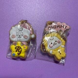 防弾少年団(BTS) - hana様専用♡BT21 クッキーチャームコット RJ&CHIMMY