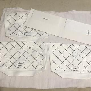 CHANEL - シャネル マトラッセ バッグ 保存袋 3枚 33×22×8 CHANEL
