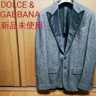 DOLCE&GABBANA - 【新品】ドルガバ テーラードジャケット ベロア切替