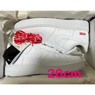 "Supreme - Supreme × Nike Air Force 1 Low ""White"""