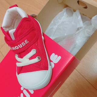 mikihouse - ミキハウス 靴 13cm 赤