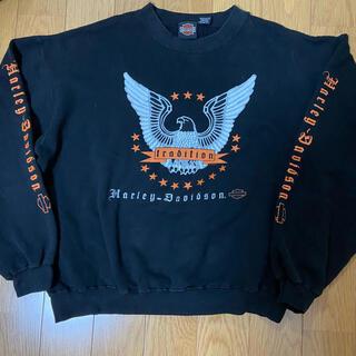 ハーレーダビッドソン(Harley Davidson)のHarley Davidsonハーレーダビッドソン スウェット トレーナー 古着(スウェット)