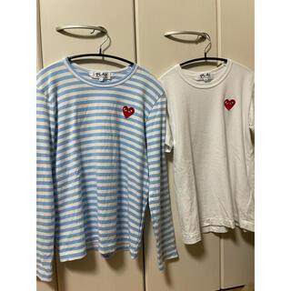 コムデギャルソン(COMME des GARCONS)のplay COMME des GARÇONS ボーダー ロンT Tシャツ(Tシャツ(長袖/七分))