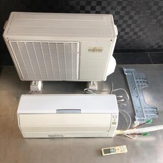 フジツウ(富士通)のインバーター冷暖房エアコン AS-S28V 富士通ゼネラル(エアコン)