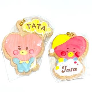 防弾少年団(BTS) - BT21 クッキー チャームコット TATA 2種セット