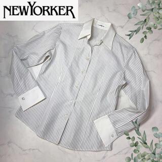 ニューヨーカー(NEWYORKER)のニューヨーカー(11号)クレリックシャツ(シャツ/ブラウス(長袖/七分))