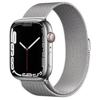 Apple Watch - Apple Watch Series 7 45mm シルバー ステンレススチール