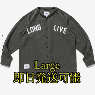 WTAPS LEAGUE/LS/COTTON.FLANNEL Lサイズ