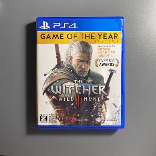PlayStation4 - ウィッチャー3 ワイルドハント ゲームオブザイヤーエディション 動作確認済み