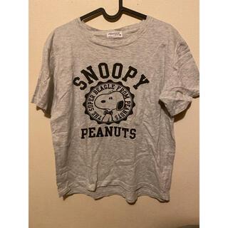 スヌーピー(SNOOPY)のグレースヌーピーTシャツ(Tシャツ(半袖/袖なし))