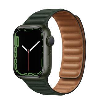 Apple Watch - Apple Watch series7 41mm グリーン アルミ GPS