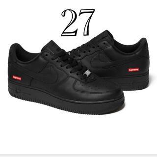 Supreme - Supreme Nike Air Force 1 Low black 27.0