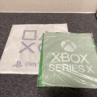 プレイステーション(PlayStation)の【新品・未使用】プレイステーション・xbox エコバッグ 2枚セット(エコバッグ)