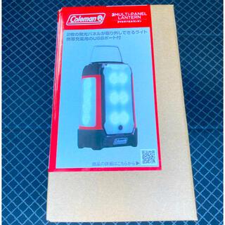 Coleman - 即発送可 コールマン LED 乾電池式 2マルチパネル ランタン Coleman