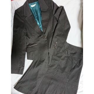スーツ 黒 p.s.fa psfa 秋 パーフェクトスーツファクトリー スカート