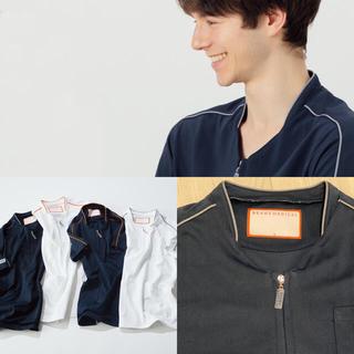 ビームス(BEAMS)の(ネイビーL)スクラブシャツ Men's (BM8999) ビームスメディカル (Tシャツ/カットソー(半袖/袖なし))