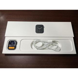 Apple Watch - ApplewatchSE 40mm GPSmodel 美品 多数付属品あり!