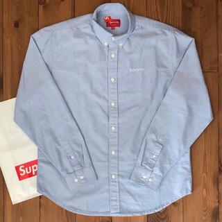 Supreme - 【美品】Oxford Shirt【青/M】