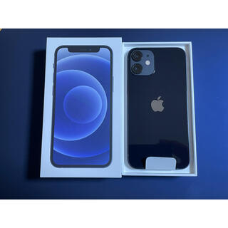 Apple - アップル iPhone12 mini 64GB ブラック au SIMロック解除