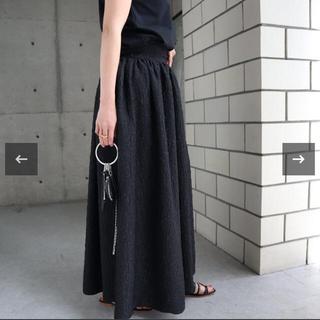 ドゥロワー(Drawer)のella_selectshop  人気ジャガードマキシスカート(ロングスカート)