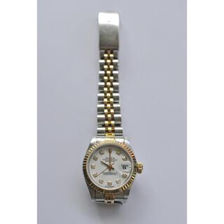 ロレックス(ROLEX)の希少ホワイト10P ロレックス  ROLEX 69173 デイトジャスト(腕時計)