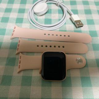 アップルウォッチ(Apple Watch)のApple Watch series4GPS + Cellularモデル40mm(腕時計)
