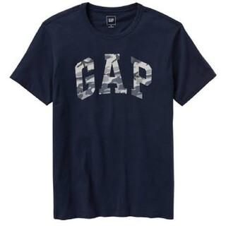 GAP - gap カモフラ ロゴ Tシャツ