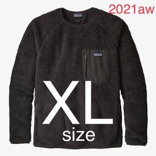 パタゴニア(patagonia)の2021年 パタゴニア メンズ ロスガトスクルー ブラック   XLサイズ(スウェット)