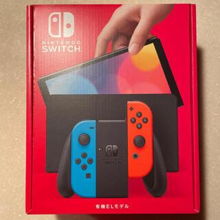 Nintendo Switch - 新品未開封 Nintendo Switch 有機EL ネオンブルー レッド