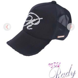 レディー(Rady)のちびrady Rビジューキャップ(帽子)